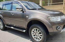 Brown Mitsubishi Montero Sport 2012 Automatic for sale