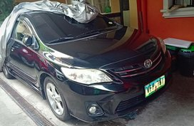 Black Toyota Corolla 2013 for sale in Quezon City