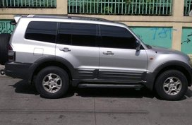 Silver Mitsubishi Pajero 2002 for sale in Quezon City