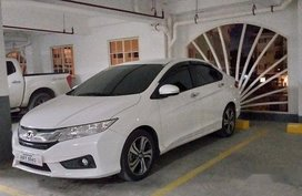Selling White Honda City 2016 Automatic Gasoline
