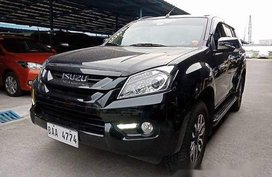 Sell Black 2017 Isuzu Mu-X at 16000 km