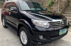 Black Toyota Fortuner 2012 for sale