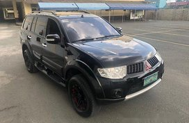 Black Mitsubishi Montero sport 2009 for sale