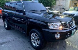 Selling Black Nissan Patrol 2010 Automatic Diesel at 80000 km
