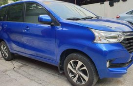 Blue Toyota Avanza 2018 Automatic Gasoline for sale