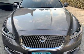 Selling Silver / Grey Jaguar Xjl 2012 Automatic Gasoline in General Salipada K. Pendatun