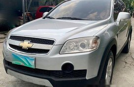 Silver 2008 Chevrolet Captiva at 80000 for sale