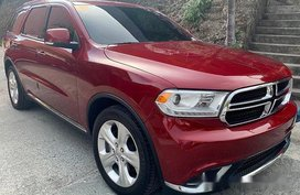 Red Dodge Durango 2015 Automatic Gasoline for sale