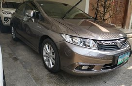 2012 Honda Civic 1.8E automatic