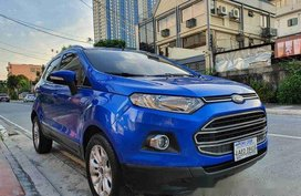 Selling Blue Ford Ecosport 2016 Automatic Gasoline