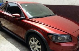 Red Volvo C30 2008 Automatic Gasoline for sale