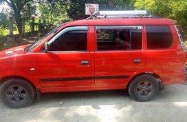 Red Mitsubishi Adventure 2004 for sale