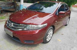 Selling Red Honda City 2013 Automatic Gasoline