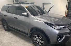 Selling Grey Toyota Fortuner 2018 Automatic Diesel