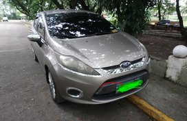 2012 Ford Fiesta 1.4 gasoline AT