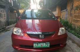 Selling Red Honda City 2005 at 95000 km