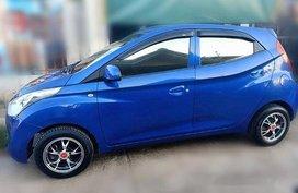 Selling Blue Hyundai Eon 2014 Manual Gasoline at 42232 km