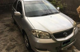 Sell Silver 2005 Toyota Vios at 99000 km