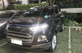 Black Ford Ecosport 2016 at 46000 km for sale