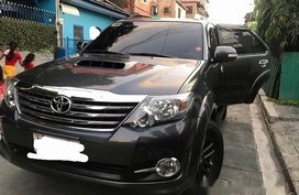 Selling Grey Toyota Fortuner 2015 in Parañaque