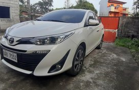 Sell Pearlwhite 2018 Toyota Vios in Quezon City