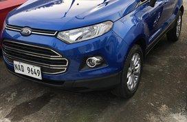 2017 Ford Ecosport Titanium Automatic Blue
