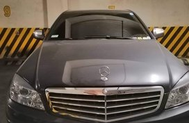 Gray Mercedes-Benz C200 2008 for sale in Pasig