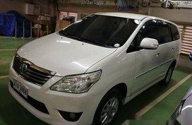 Sell White 2014 Toyota Innova at 85100 km