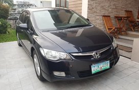Black Honda Civic 2007 for sale in Quezon City