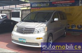 Selling Toyota Alphard 2002 at 94490 km