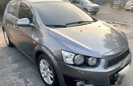 Selling Grey Chevrolet Sonic 2013 in Pasig