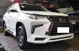 White 2016 Toyota Fortuner at 21000 km for sale