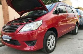 Selling Red 2014 Toyota Innova 2.5J in Santa Rosa