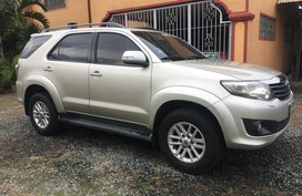 2012 Toyota Fortuner G 2.5 Automatic Diesel