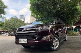 2017 Toyota Innova E Automatic