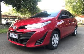Red 2019 Toyota Vios J Automatic