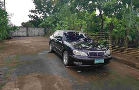 Selling Black Nissan Cefiro 2004 Automatic Gasoline