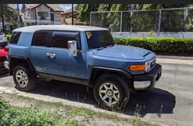 Blue Toyota Fj Cruiser 2017 at 14000 km for sale
