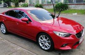 Sell Red 2014 Mazda 6 at 45000 km