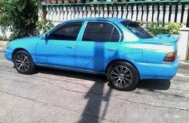 Blue Toyota Corolla 1992 Manual Gasoline for sale