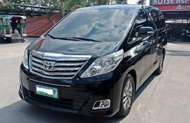 Black Toyota Alphard 2013 at 72000 km for sale