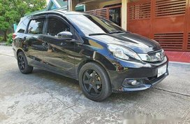 Black Honda Mobilio 2015 for sale in Cavite