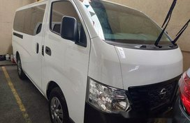 White Nissan Nv350 urvan 2018 at 6000 km for sale