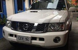 Sell White 2014 Nissan Patrol at Automatic Diesel at 77000 km