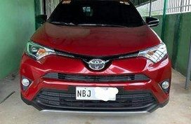 Red Toyota Rav4 2018 Automatic Gasoline for sale