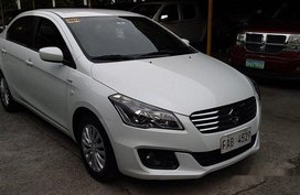 White Suzuki Ciaz 2017 at 26 km for sale