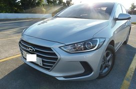 Silver 2018 Hyundai Elantra MT for sale in Quezon City