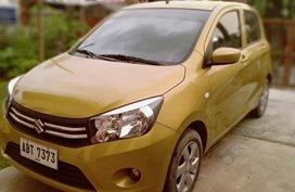Selling Golden Suzuki Celerio Model 2015 in Balagtas