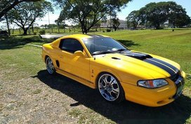 Sell Yellow 1994 Ford Mustang at 62000 km