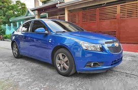 Selling Blue Chevrolet Cruze 2012 at 70000 km
